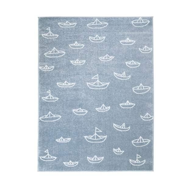 Kinderteppich Segelboot Bueno 1457 Blau