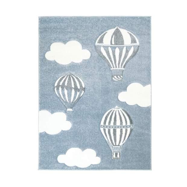 Kinderteppich Heißluft-Ballon Bueno 1456 Blau
