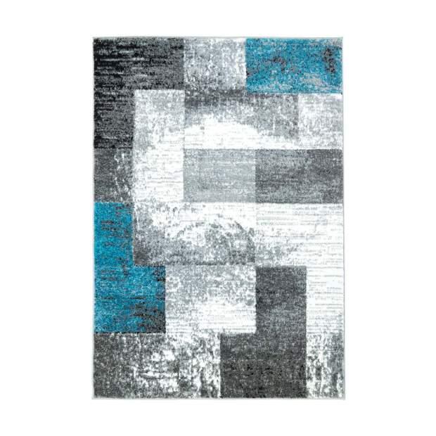 Teppich Moda 1989 Blau