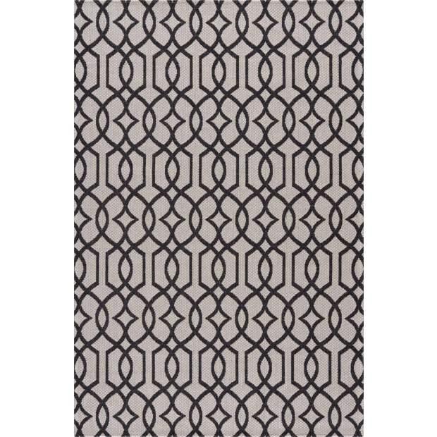 Baumwollteppich 21563 Grau