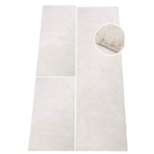 Micro-Polyester Bettumrandung Softshine Weiß
