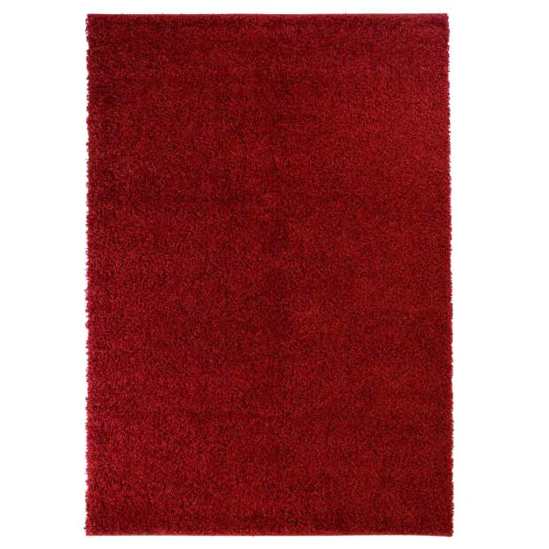 Teppich Shaggy 500 Rot