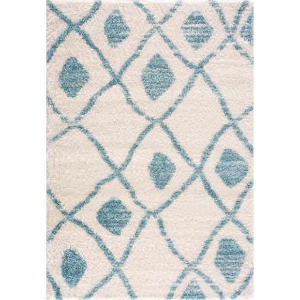 Teppich Pulpy 563 Blau