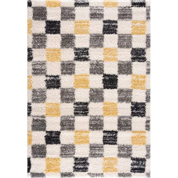 Teppich Pulpy 554 Grau