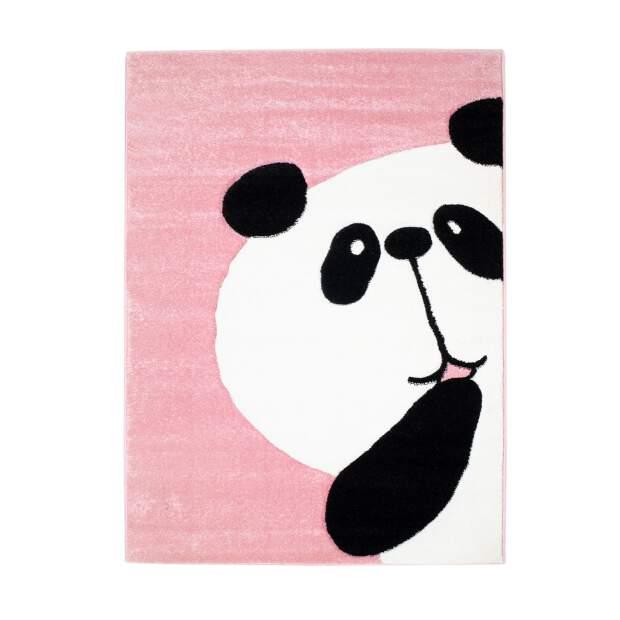 Kinderteppich Panda Bueno 1389 Rosa