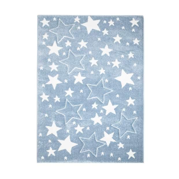 Kinderteppich Sterne Bueno 1325 Blau