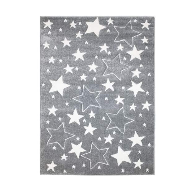 Kinderteppich Sterne Bueno 1325 Grau