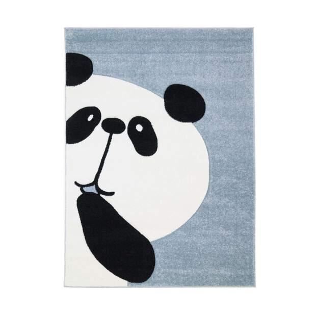 Kinderteppich Panda Bueno 1389 Blau