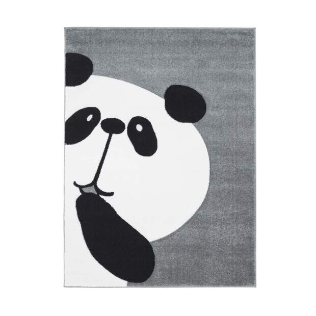 Kinderteppich Panda Bueno 1389 Grau