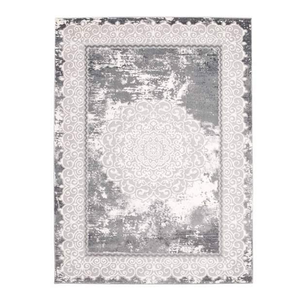 Teppich Klassisch Platin 8058 Grau