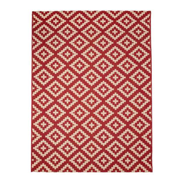 Outdoor-Teppich 642 Rot