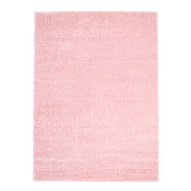 Teppich Uni Moda 2081 Rosa