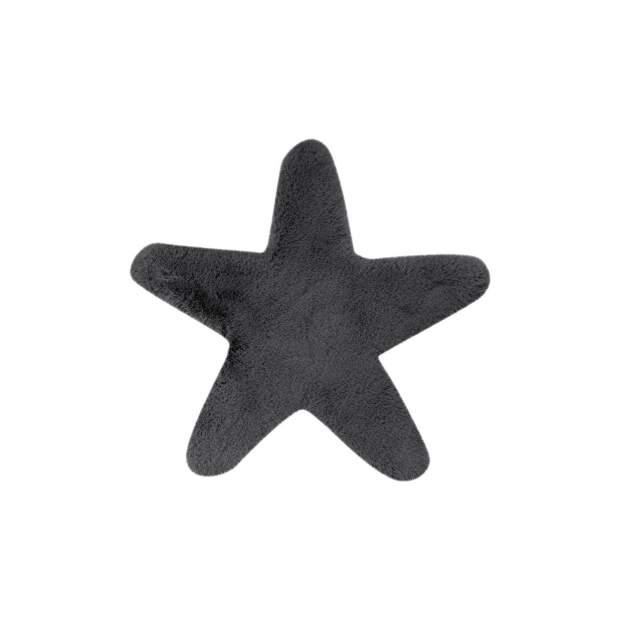 Kinderteppich Stern Motiv Einfarbig  1025