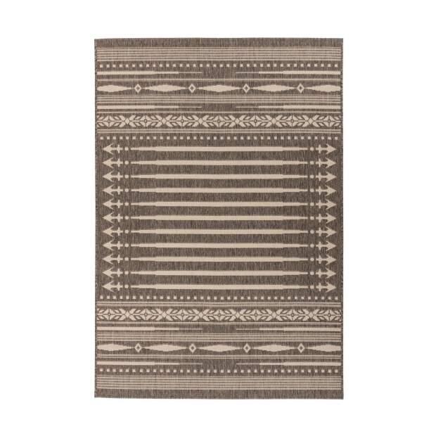 Outdoor Teppich Indi 200 Braun