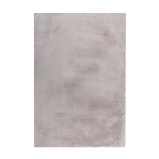 Teppich Wooly 500 Silber