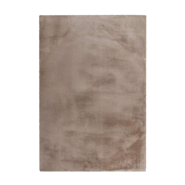 Teppich Wooly 500 Taupe
