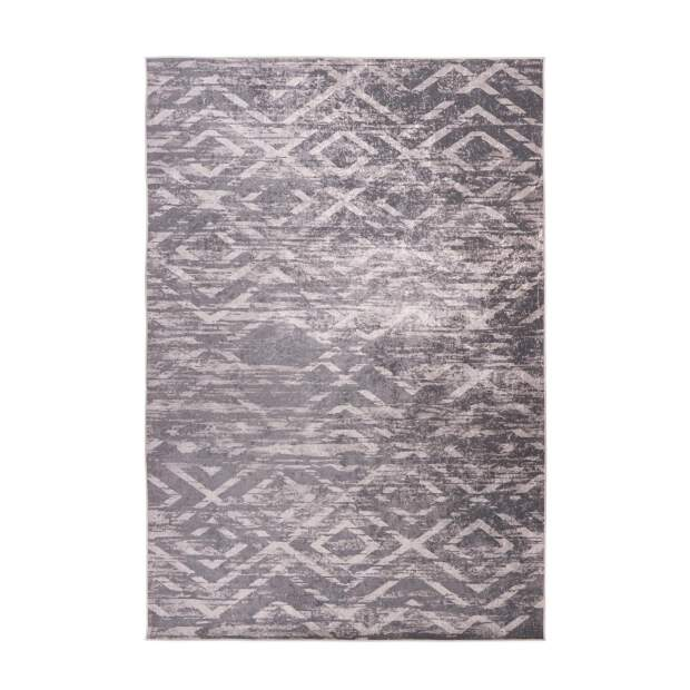 Teppich Check 425 Taupe