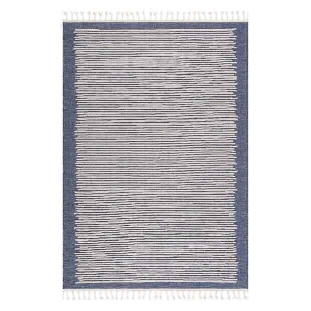 Teppich Art 2231 Blau